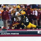 2008 Stadium Club Football #012 Clinton Portis - Washington Redskins