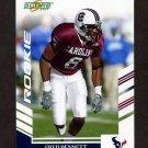 2007 Score Football #309 Fred Bennett RC - Houston Texans