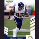 2007 Score Football #281 Vincent Jackson - San Diego Chargers