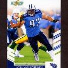 2007 Score Football #246 Kyle Vanden Bosch - Tennessee Titans