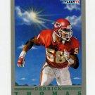 1991 Fleer Pro-Vision Football #09 Derrick Thomas - Kansas City Chiefs
