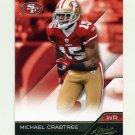 2011 Absolute Memorabilia Retail Football #085 Michael Crabtree - San Francisco 49ers