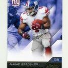 2011 Absolute Memorabilia Retail Football #063 Ahmad Bradshaw - New York Giants