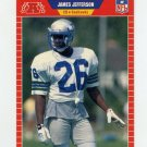 1989 Pro Set Football #539A James Jefferson ERR RC - Seattle Seahawks