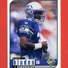 1998 UD Choice Football #167 Bennie Blades - Seattle Seahawks