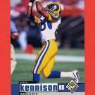 1998 UD Choice Football #152 Eddie Kennison - St. Louis Rams