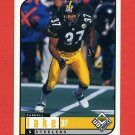 1998 UD Choice Football #144 Carnell Lake - Pittsburgh Steelers