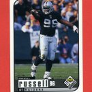 1998 UD Choice Football #131 Darrell Russell - Oakland Raiders