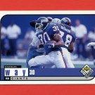 1998 UD Choice Football #120 Charles Way - New York Giants