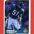 1998 UD Choice Football #082 Kevin Hardy - Jacksonville Jaguars