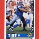 1998 UD Choice Football #061 Luther Elliss - Detroit Lions
