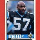 1998 UD Choice Football #030 Lamar Lathon - Carolina Panthers