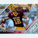 2009 Upper Deck Draft Edition Football #077 Rudy Carpenter RC - Arizona State