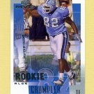 2001 Upper Deck MVP Football #307 Alge Crumpler RC - Atlanta Falcons