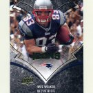 2008 Upper Deck Icons Football #061 Wes Welker - New England Patriots