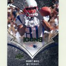 2008 Upper Deck Icons Football #059 Randy Moss - New England Patriots