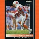 1992 Pinnacle Football #144 Mark Carrier WR - Tampa Bay Buccaneers