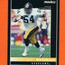 1992 Pinnacle Football #112 Hardy Nickerson - Pittsburgh Steelers