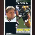 1991 Pinnacle Football #183 Bryce Paup RC - Green Bay Packers
