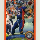 2011 Topps Chrome Orange Refractors Football #148 Tim Tebow - Denver Broncos