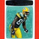 2008 Topps Rookie Progression Football #091 Donald Driver - Green Bay Packers