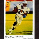 2002 Topps Gallery Football #063 Shaun Alexander - Seattle Seahawks