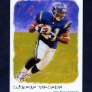 2002 Topps Gallery Football #024 LaDainian Tomlinson - San Diego Chargers