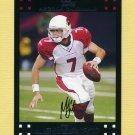 2007 Topps Football #001 Matt Leinart - Arizona Cardinals