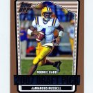 2007 Topps Draft Picks and Prospects Football #142 JaMarcus Russell RC - LSU Tigers