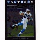2008 Topps Chrome Football #TC085 Steve Smith - Carolina Panthers