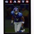 2008 Topps Chrome Football #TC075 Plaxico Burress - New York Giants