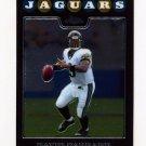 2008 Topps Chrome Football #TC006 Davis Garrard - Jacksonville Jaguars
