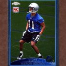 2009 Topps Chrome Football #TC111 Aaron Brown RC - Detroit Lions