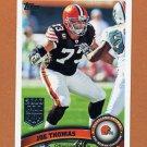 2011 Topps Football #285 Joe Thomas - Cleveland Browns