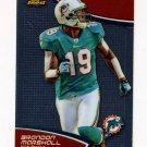 2011 Finest Football #037 Brandon Marshall - Miami Dolphins