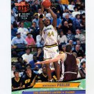 1992-93 Ultra Basketball #196 Anthony Peeler RC - Los Angeles Lakers