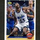 1992-93 Upper Deck McDonald's Basketball #OR03 Terry Catledge - Orlando Magic