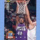 1994-95 Collector's Choice Basketball #180 Vin Baker TO - Milwaukee Bucks