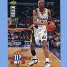 1994-95 Collector's Choice Basketball #176 Reggie Miller TO - Indiana Pacers