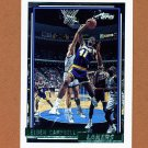 1992-93 Topps Gold Basketball #150G Elden Campbell - Los Angeles Lakers