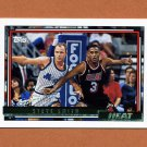 1992-93 Topps Gold Basketball #147G Steve Smith - Miami Heat