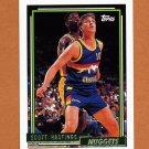1992-93 Topps Gold Basketball #050G Scott Hastings - Denver Nuggets