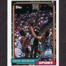 1992-93 Topps Basketball #277 David Robinson - San Antonio Spurs