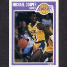 1989-90 Fleer Basketball #075 Michael Cooper - Los Angeles Lakers