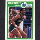 1989-90 Fleer Basketball #033 Adrian Dantley - Dallas Mavericks