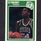 1989-90 Fleer Basketball #013 Ed Pinckney - Boston Celtics