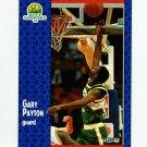 1991-92 Fleer Tony's Pizza Basketball #S-9 Gary Payton - Seattle Supersonics