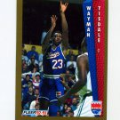 1992-93 Fleer Tony's Pizza Basketball #65 Wayman Tisdale - Sacramento Kings