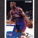 1993-94 Fleer Basketball #283 Lindsey Hunter RC - Detroit Pistons