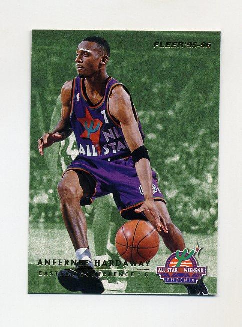 1995-96 Fleer All-Stars Basketball #04 Anfernee Hardaway / Dan Majerle